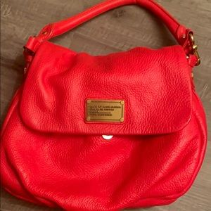 Marc Jacobs Hot Pink Crossover Bag
